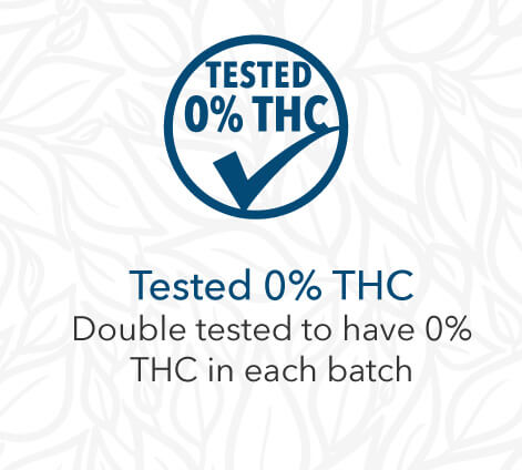 Tested 0% THC